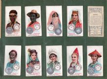 Tobacco Cigarette cards Time & Money 1908